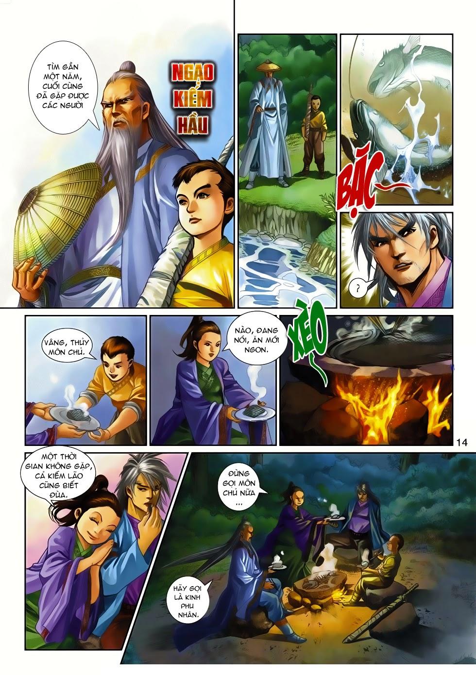 Thần Binh Tiền Truyện 4 - Huyền Thiên Tà Đế chap 14 - Trang 14