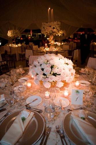 Napkins can be a huge part of the table setting Instead of just folding