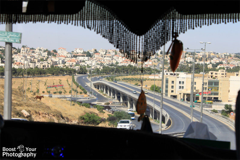 Through the windshield: a view of Jordan | Boost Your Photography