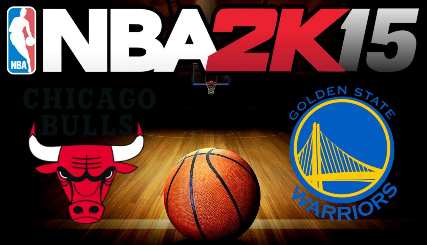 Chicago Bulls vs Golden State Warriors  20141207  NBA 2K15