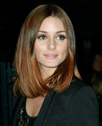 Olivia Palermo, love the cut love the color.