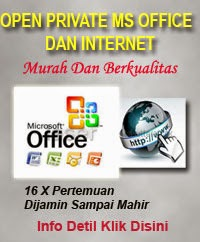 Private Paket Microsoft Office Dan Internet 36 Jam