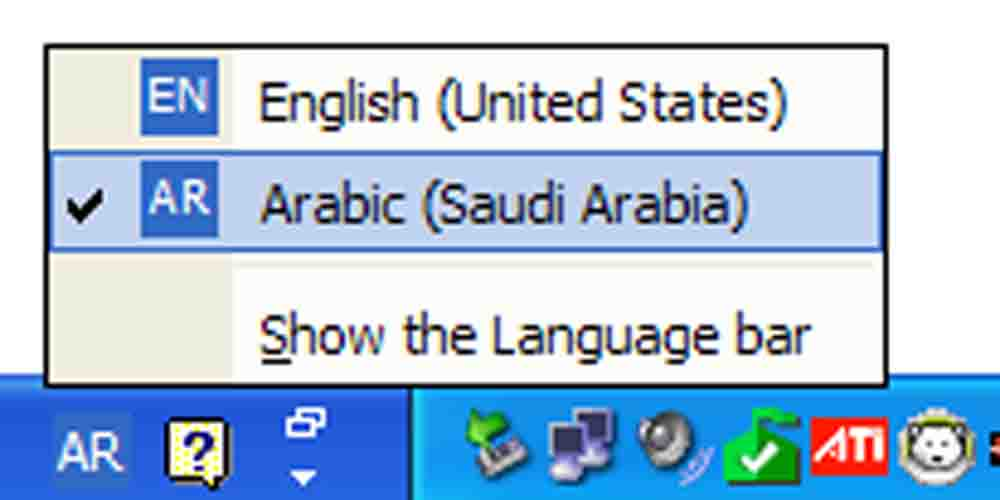 how to add arabic language to android keyboard