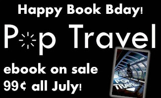 POP TRAVEL book bday sale!