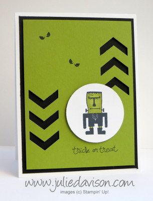 Stampin' Up! Freaky Friends Frankenstein Card