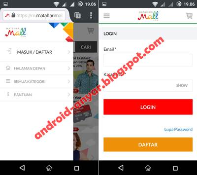 Download App MatahariMall.com for Android APK