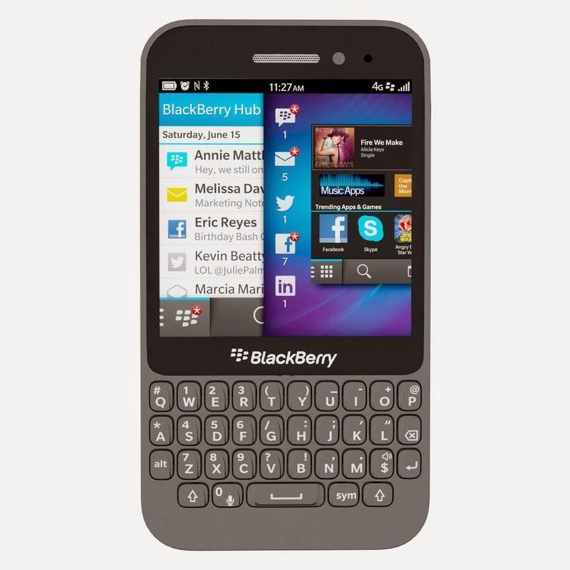 Spesifikasi Dan Harga BlackBerry Q5 Black Terbaru