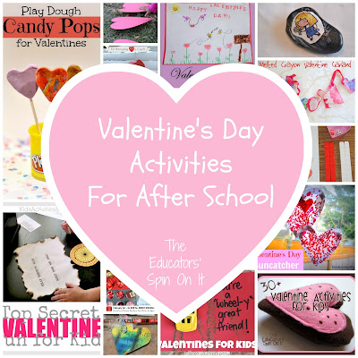 Valentine's Day Activities for Kids featured at The Educators' Spin On It