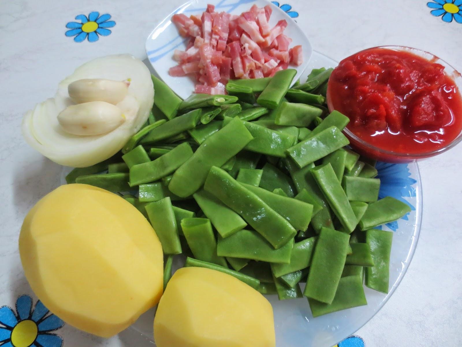 Jud as verdes guisadas olla gm - Tiempo coccion judias verdes ...