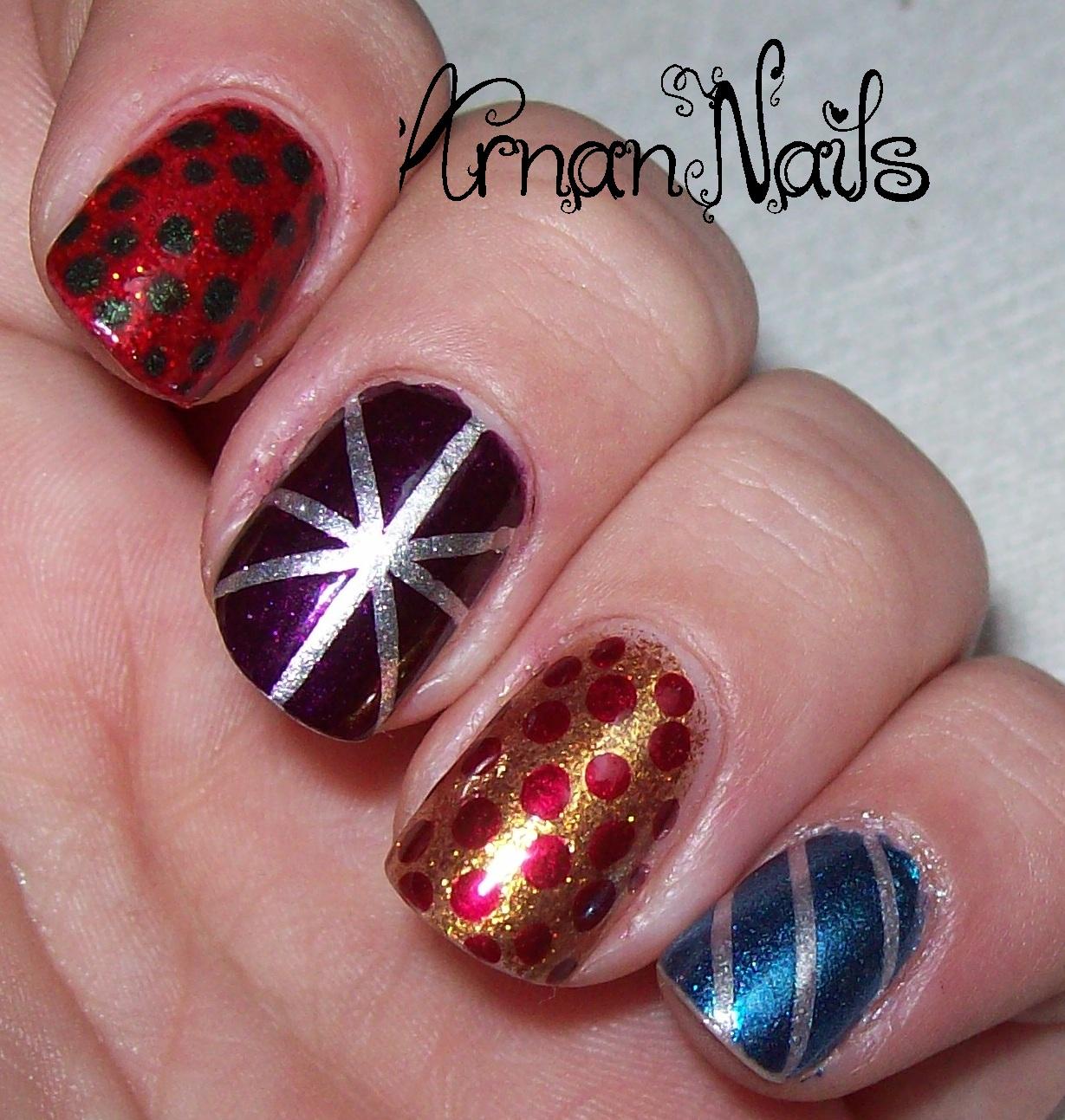 Arnan Nails: Nail Polish Canada Holiday Contest Week 3 - Christmas ...