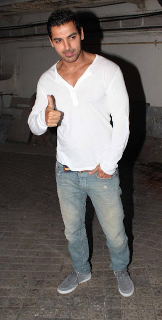 John, Karan, Alia Bhatt and others at  'Student Of The Year' Special screening