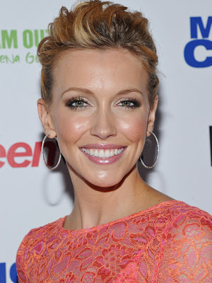 Katie Cassidy Diamond Hoop Earrings
