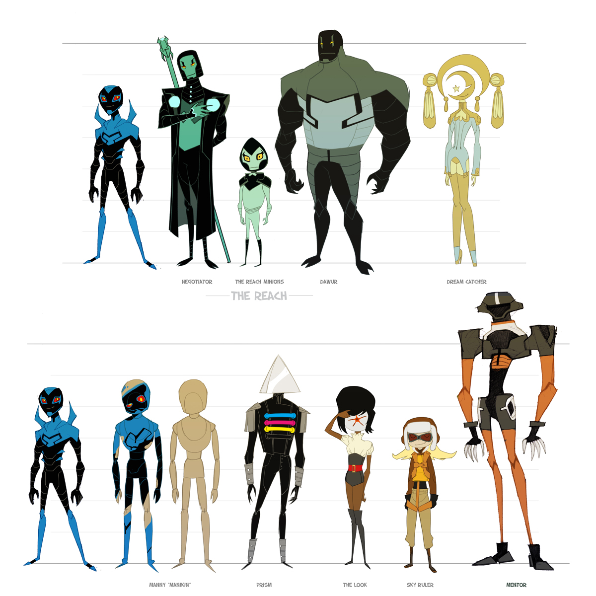 Character Design From The Ground Up Download : Dou hong blue beetle animated