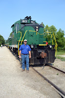 Farmer Doc at the French Lick Scenic Railway