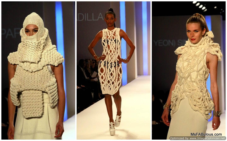 Ms fabulous future of fashion 2013 knitwear design Contemporary fashion designers