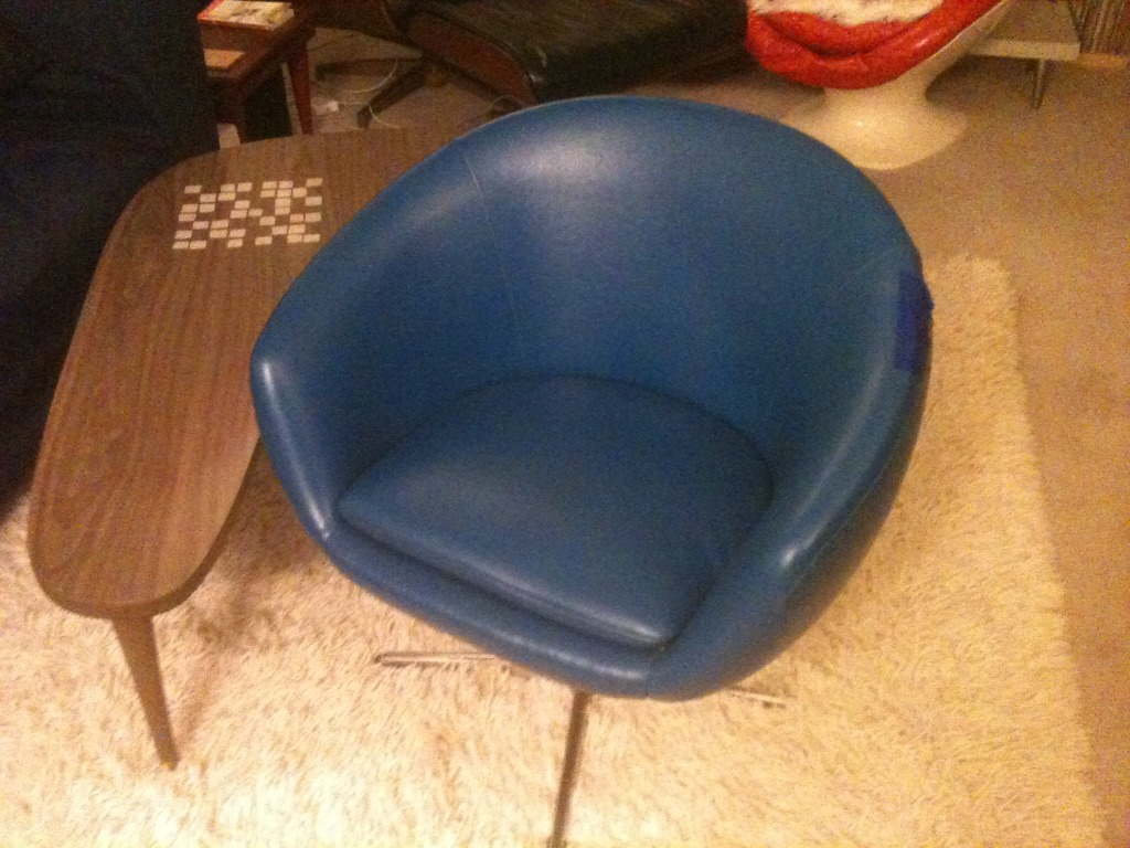 Vintage Shelby Williams / Overman Pod Chair   $100 (Salem)  Http://boston.craigslist.org/nos/fuo/2889199155.html
