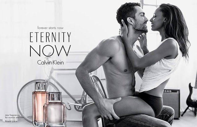 Jasmine Tookes gets close with boyfriend for Calvin Klein Eternity Now Fragrance Campaign 2015