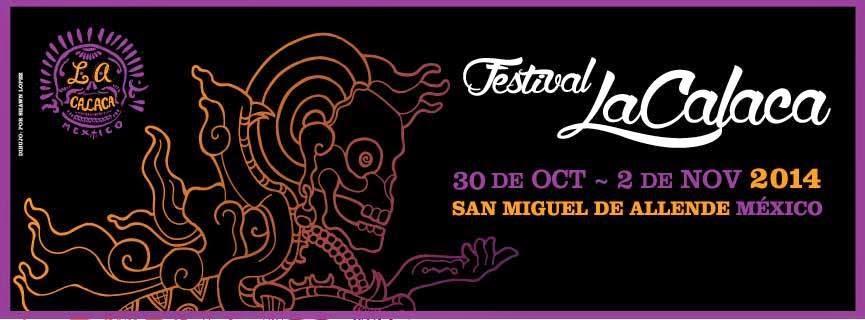 Programa festival la calaca 2014