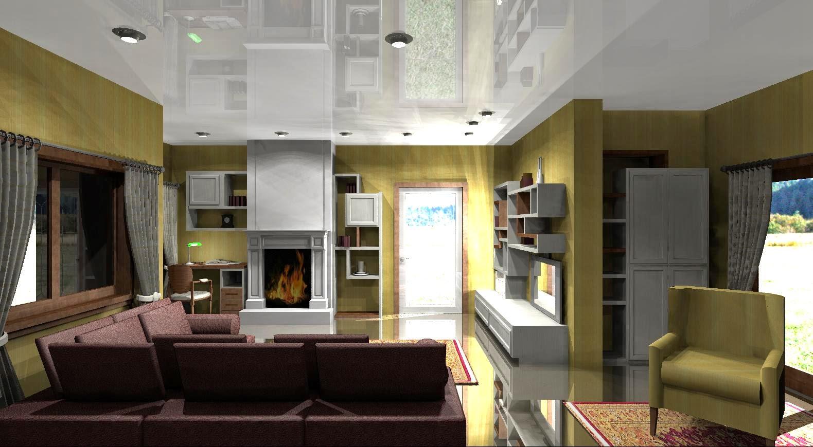 uno studio a vista nel soggiorno - Creare Una Zona Studio In Soggiorno 2