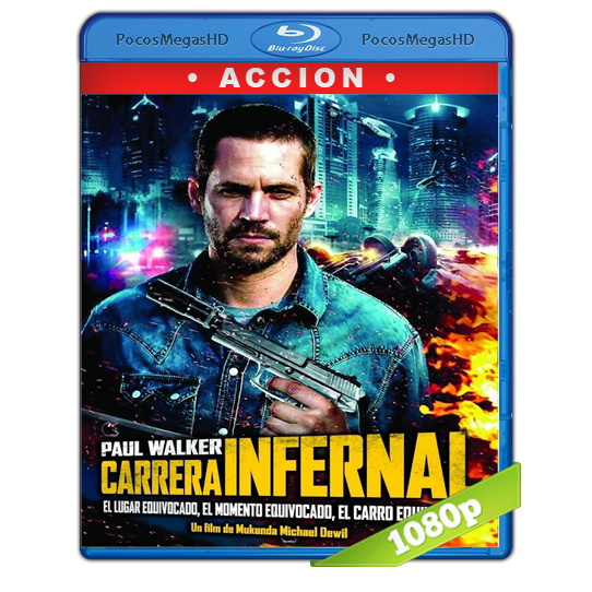 Carrera Infernal (2013) Full HD BRRip 1080p Audio Dual Latino/Ingles 5.1