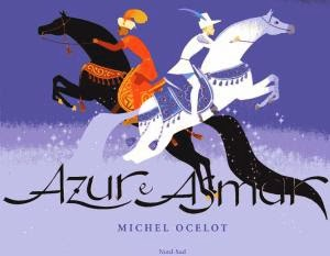Azur e Asmar, di Ochelot. copertina. ispirazione per l'Aida di Monica Auriemma. Children's Book Illustration