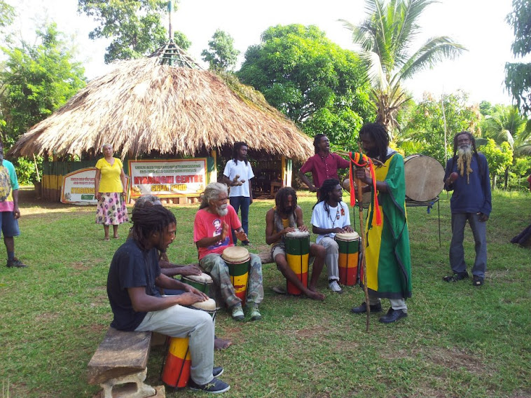 Rastafarians Singing & Chanting