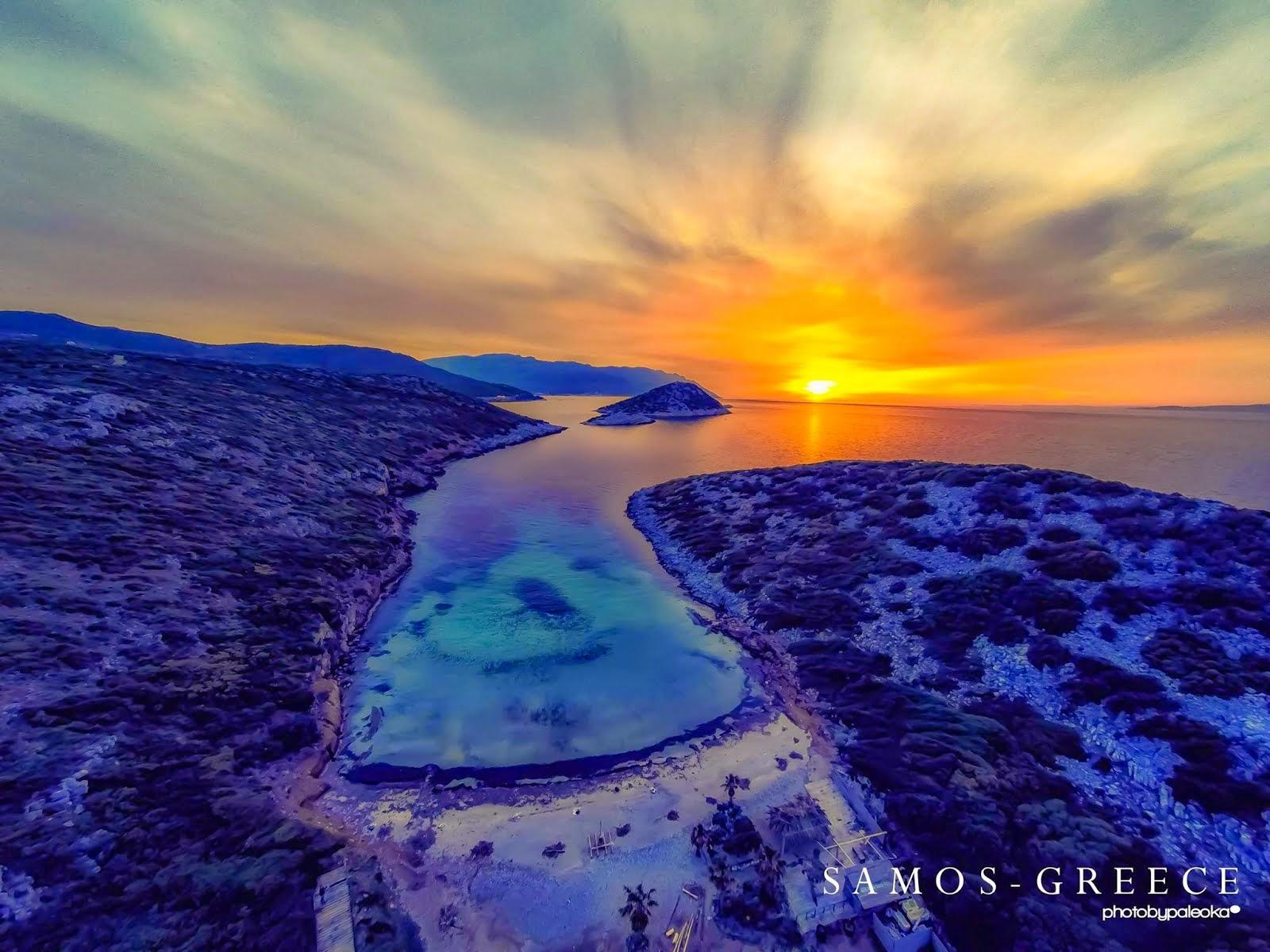 Η Σάμος από ψηλά | Samos Airviews