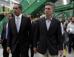 Scioli y Macri se tiran con munición gruesa