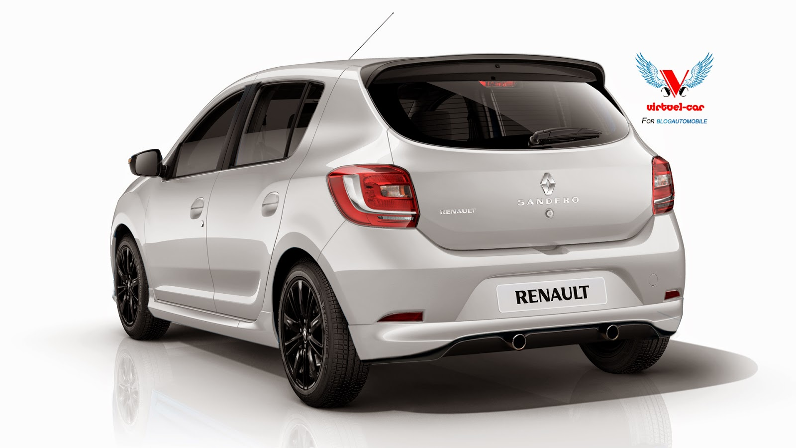 a renault faced illustration of the performance sandero rs carscoops. Black Bedroom Furniture Sets. Home Design Ideas