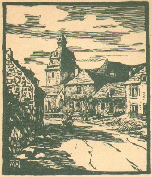 Le bourg du Faouët