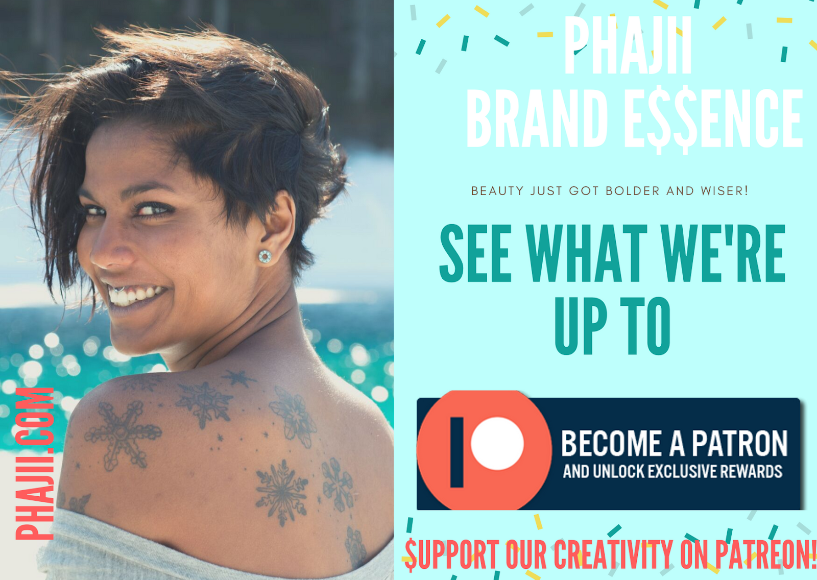 Beauty just got bolder and wiser!! Phajii Brand Essence