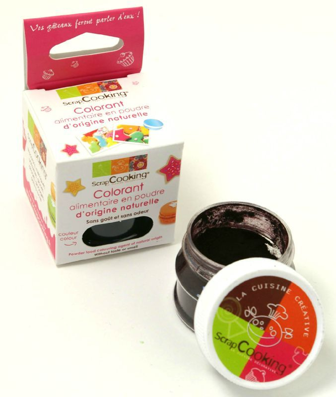 colorants naturels scrapcooking - Colorant Alimentaire Grande Surface