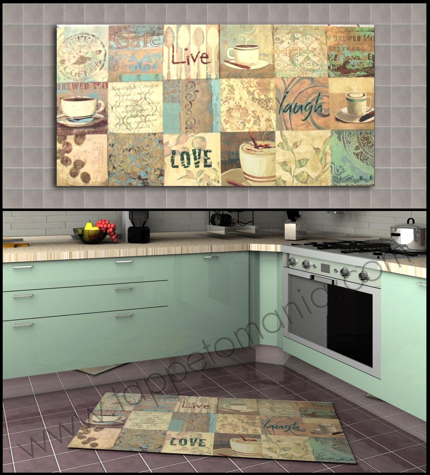 Tappeti cucina ebay: dettagli su w361 tappeto cucina fiori colore ...