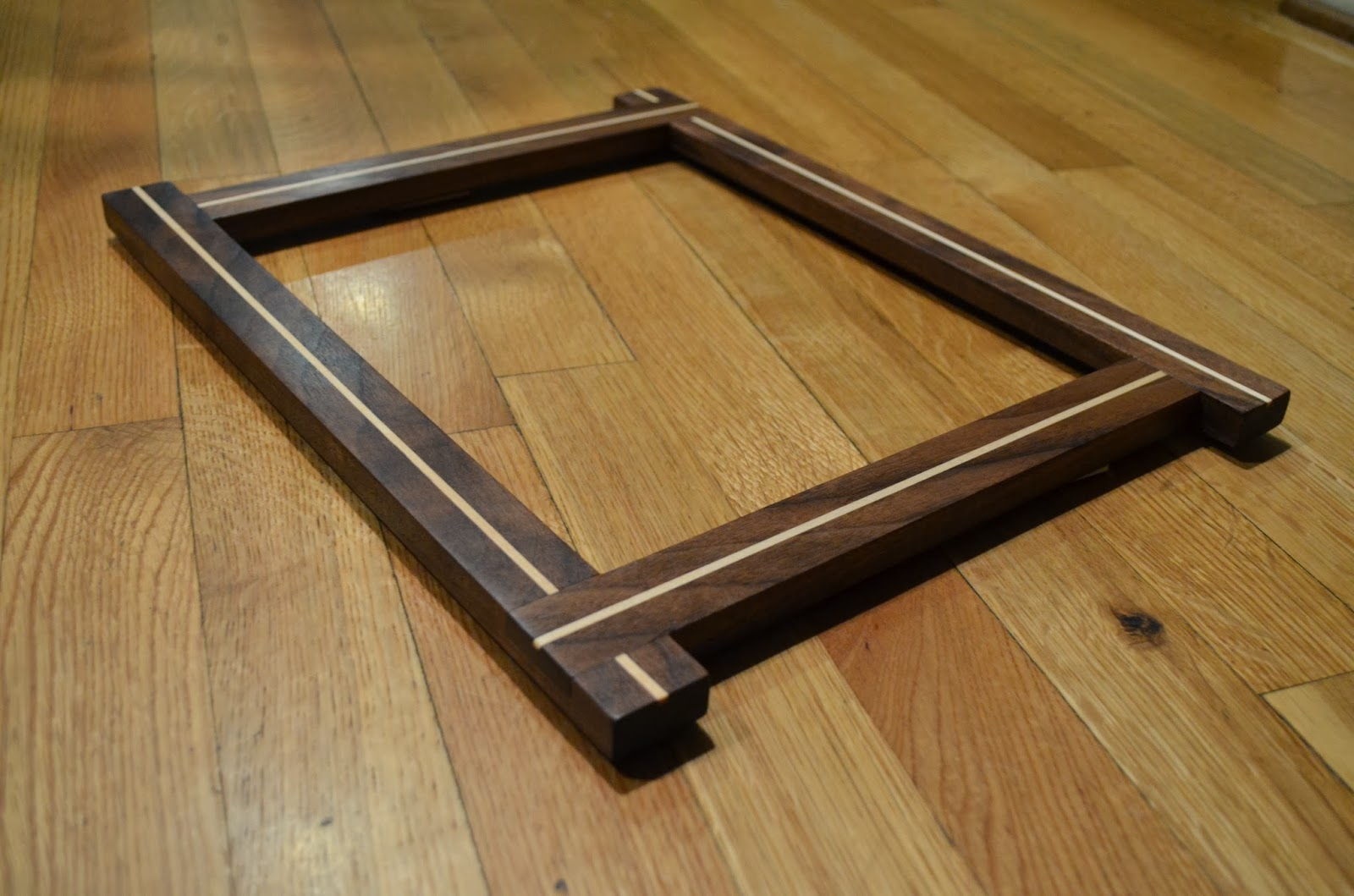 Picture frames vaughan woodworks i made two picture frames out of reclaimed california redwood which i found in a dumpster at a construction site they were fence posts before they were jeuxipadfo Image collections