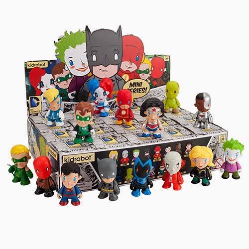 "DC Comics ""New 52"" Blind Box Mini Figure Series by Kidrobot"