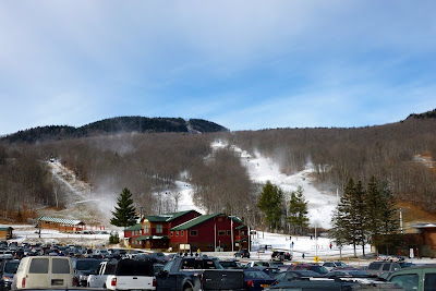 Opening weekend at Gore.  The Saratoga Skier and Hiker, first-hand accounts of adventures in the Adirondacks and beyond, and Gore Mountain ski blog.
