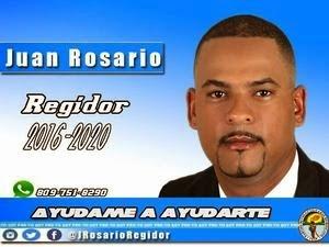 Juan Rosario, regidor!
