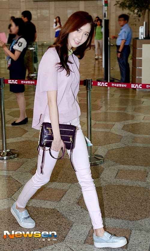 snsd yoona airport pic