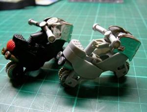 Hướng dẫn làm mô hình xe máy cực đơn giản và nhanh dành cho các boy