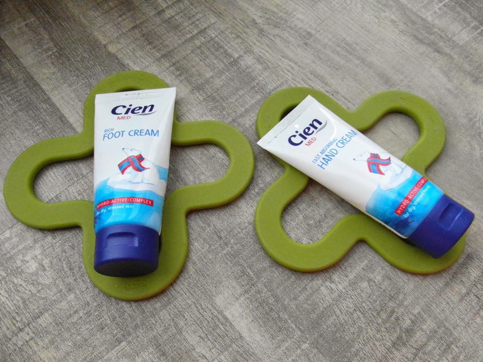 Cien MED Rich Foot cream a CIEN MED Fast absorbing Hand