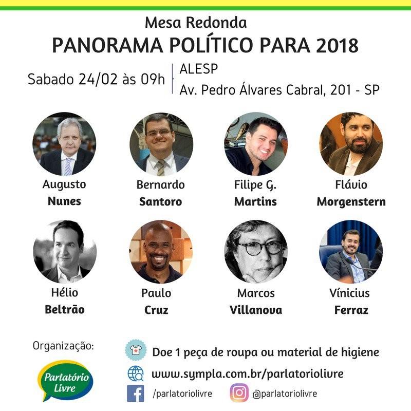 24 de fevereiro, 9h00: São Paulo (ALESP)