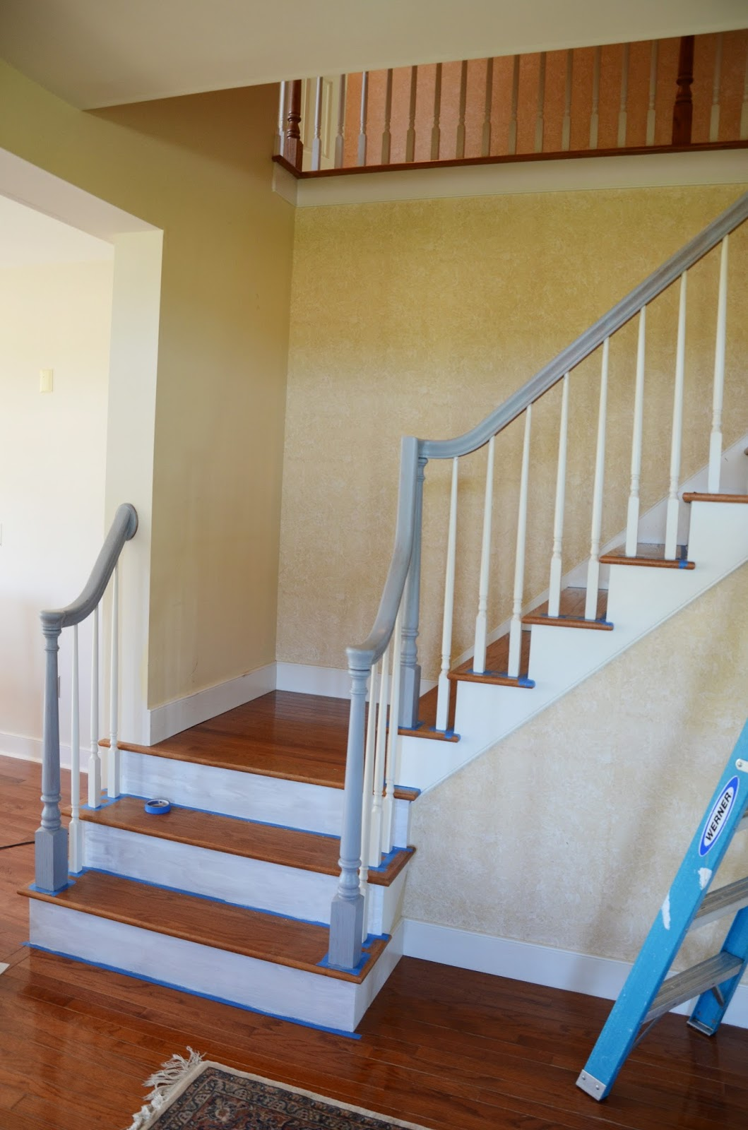 Then We Painted The Risers With 3 Coats Of High Gloss