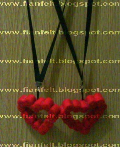 ... angry bird kain flanel kalung flanel cara membuat kerajinan dari kain