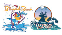 Logo Blizzard Beach e Thyphoon Lagoon
