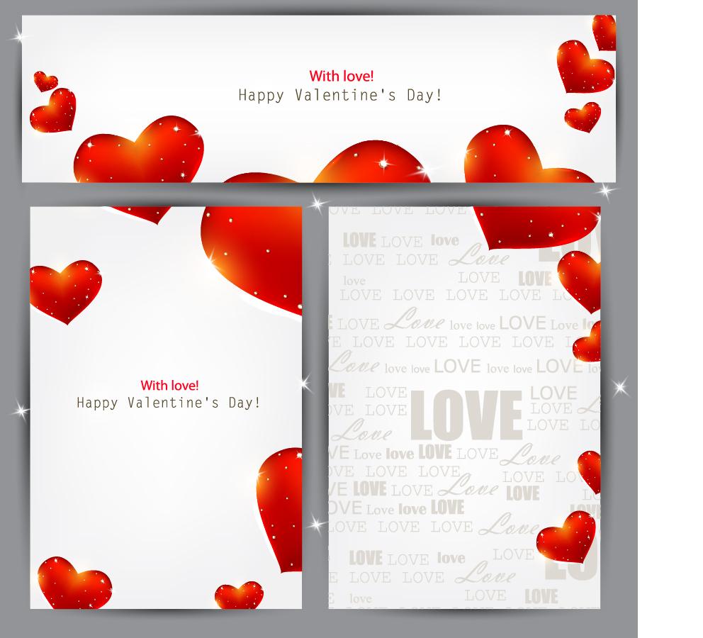 バレンタインデーカードの背景 valentine paper backplane イラスト素材