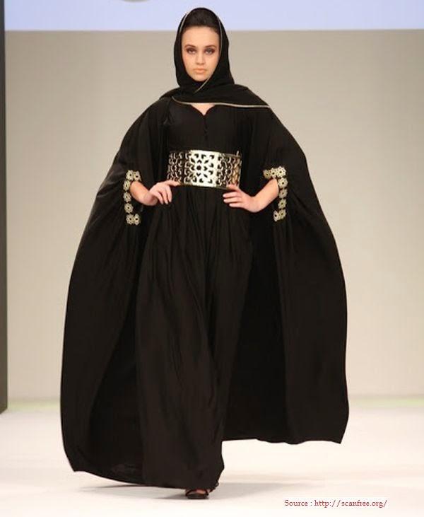 Mode Hijab style abaya