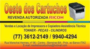 OESTE DOS CARTUCHOS - BARREIRAS E REGIÃO
