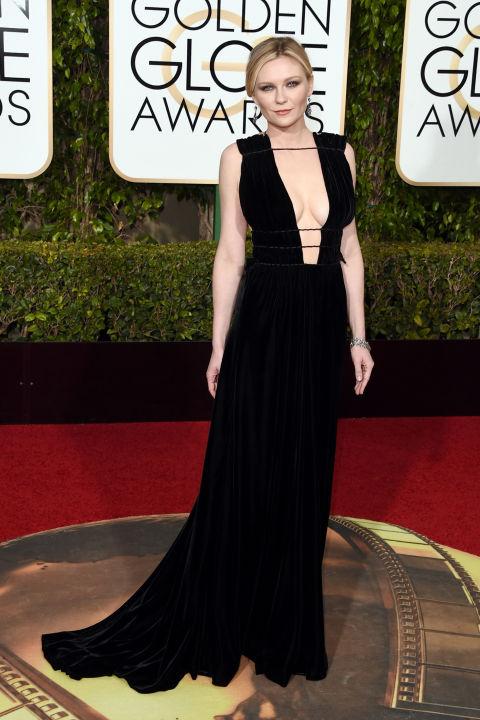 Golden Globes Kirsten Dunst Valentino