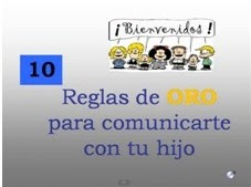10 REGLAS DE ORO PARA COMUNICARTE CON TUS HIJOS
