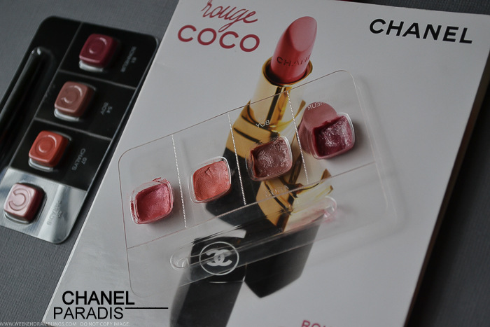 Chanel Rouge Coco Hydrating Creme Lipstick Paradis 39 - Swatch Photos FOTD